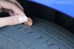 tire tread depth test